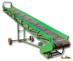 Ленточный конвейер для транспортирования мешков